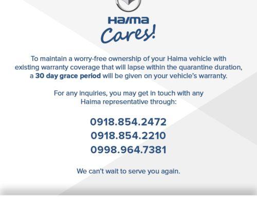 Haima Public Advisory